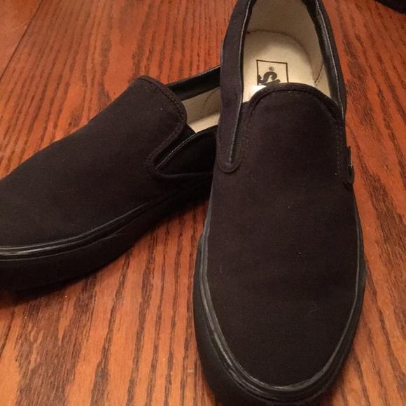 Vans Shoes | Slip On Vans Mens Size Jet
